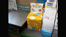 Donate your unwanted foreign money at the Post Office