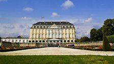 The Augustusburg Castle in Brühl.