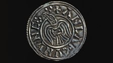 Penny of Anlaf Guthfrithsson of Northumbria (939–41). England. Silver.