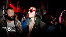 Friday night at the Silent Disco