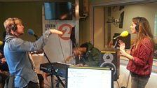 Kian Egan and Jodi Albert sang live on Weekend Wogan