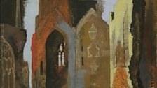John Piper St Mary le Port, Bristol 1940