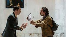 Christopher Ainslie as Unulfo and Iestyn Davies as Bertarido
