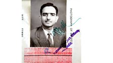 Ravi Datt Puri still has the passport he arrived with on 14th November, 1959.