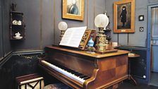 Ravel's piano at his home in Montfort-l'Amaury, France
