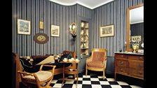 Living room of house in Montfort-l'Amaury
