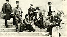 Ravel with competitors for Grand Prix de Rome 1901