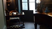 In Ravel's house at Montfort l'Amaury