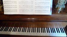 At Ravel's house at Montfort l'Amaury