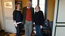 Sara Mohr-Pietsch, Roger Nichols and Claude Moreau.