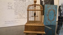 The wind-up bird, at Ravel's house at Montfort l'Amaury
