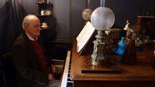 Roger Nichols at Ravel's piano