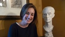 Sara Mohr-Pietsch at Ravel's house at Montfort l'Amaury