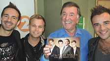 A1 with Sir Terry Wogan.