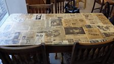 Newspaper Tabletop