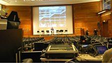 Soundcheck at RIBA