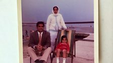 Gunwant Grewal loved trips to the beach on arrival in England