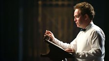 Tom Hollander stars as Dylan Thomas in A Poet in New York