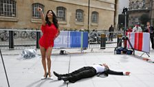 Strictly stars: Kevin Clifton and Karen Hauer