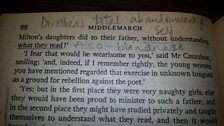 Middlemarch Annotation