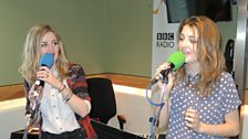 New British country music duo Ward Thomas performed live on Weekend Wogan.