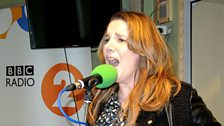 Sam Bailey of X Factor fame sang live in Studio 6C for Weekend Wogan.