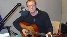 Roger Davies playing live at BBC Leeds