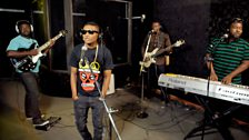 Wizkid in the Live Lounge in Lagos