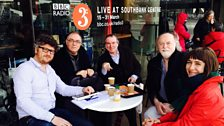 Tom Service, Hugh Canning, David Pountney, Peter Donohoe and Kate Molleson