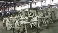 The workers of HH Martyn originally made fittings for ocean going liners. During the war, they turned their hand to aircraft.
