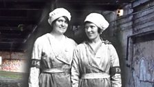 At the Rotherwas munitions works in Hereford, 4,000 women workers filled 70,000 heavy shells each week.