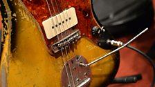 Thurston Moore's Jazzmaster guitar