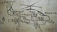 War graffitti