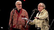 Simon Jones and Geoff McGivern