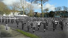 In 1914 the children at Steyne School in Worthing could hear the guns firing from across the English Channel.