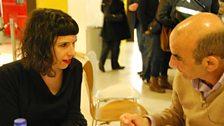 Serena Kutchinsky and Raja Shehadeh