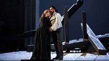 Patricia Racette as Maddalena and Marcelo Álvarez as the title role