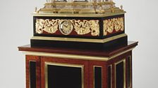 Organ clock, The Temple and Oracle of Apollo, 1608-65