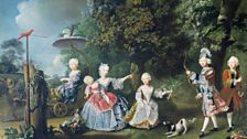 Barthélemy du Pan, The Children of Frederick, Prince of Wales, 1746