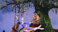 Sarah Lamb as Perdita and Steven McRae as Florizel in Act II of The Winter's Tale