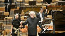 Mitsuko Uchida and Simon Rattle @ 50th Anniversary Gala Concert