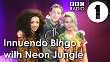 Girl-band popsters Neon Jungle
