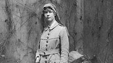 A nurse at the Endell Street Military Hospital, the only hospital to be staffed entirely by women