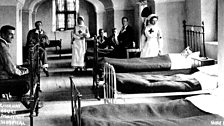 Gournay Court, in Somerset, opened as a hospital in 1915. Over 1,400 soldiers were treated here during WW1, without one death