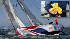 Lesley and Pudsey's Clipper Race