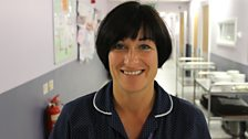 Ward Manager Becky Freeman