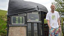 Arthur visits a prestigious shed