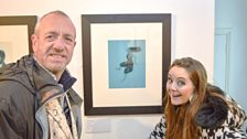 Arthur and Holly Burn visit a comedy art exhibition