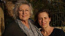 Kirsty Wark with Germaine Greer