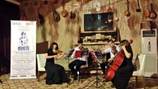 Iraqi National Youth Orchestra play opening event